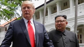 Secretary of State Pompeo will lead charge to implement framework of President Trump's agreement with North Korea's Kim Jong Un; Rich Edson reports from Singapore.