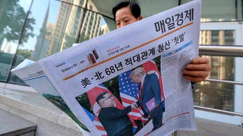 Greg Palkot reports from Seoul on the reaction to denuclearization efforts and President Trump's bid to end joint military drills with the U.S.