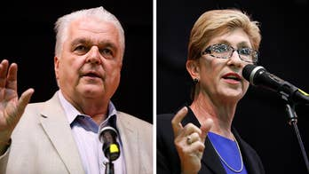 Christina Giunchigliani and Steve Sisolak face off in close race; Jonathan Hunt reports from Las Vegas.
