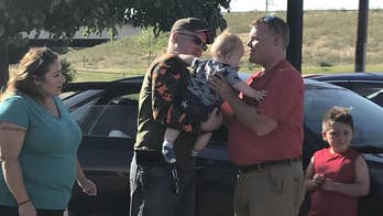A Good Samaritan pulled over to perform CPR on an unresponsive baby, right on the side of a busy highway in Colorado.