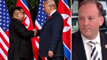 President Trump credits tough rhetoric for getting North Korea's Kim Jong Un to the negotiating table.
