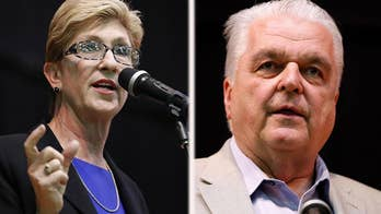 Primary day across America, with five state heading to the polls including Nevada, where they're narrowing down their choices for governor; chief correspondent Jonathan Hunt reports from Las Vegas.