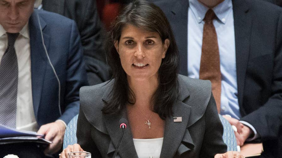 Spotlight on U.S. ambassador to the U.N.'s tough words and actions on the world stage.