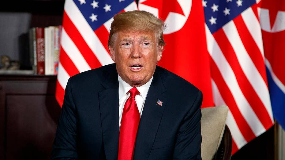 Trump sees 'tremendous success' in summit with Kim