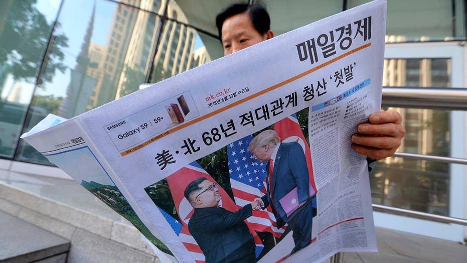 South Korea reacts to historic Trump-Kim Jong Un meeting