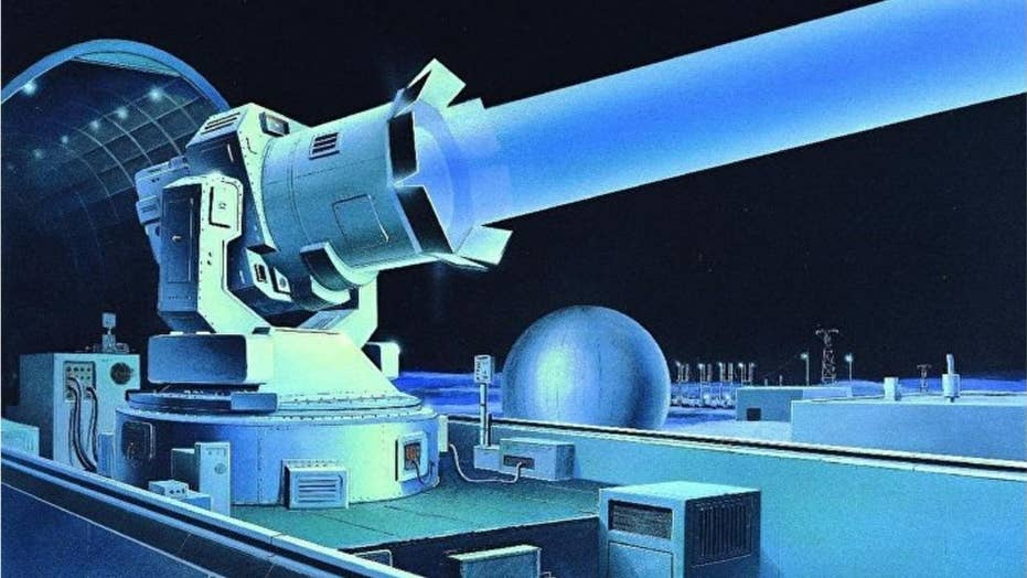 Russia has reportedly developed a new space laser canon