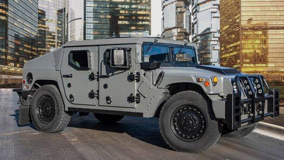 Next generation Humvee debuts as NXT 360