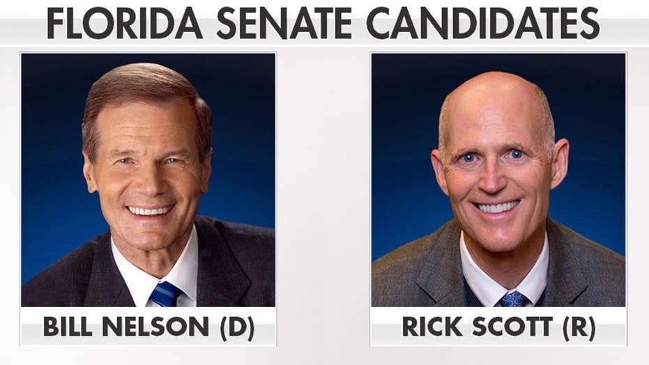 Nelson, Scott gear up for competitive Florida Senate race