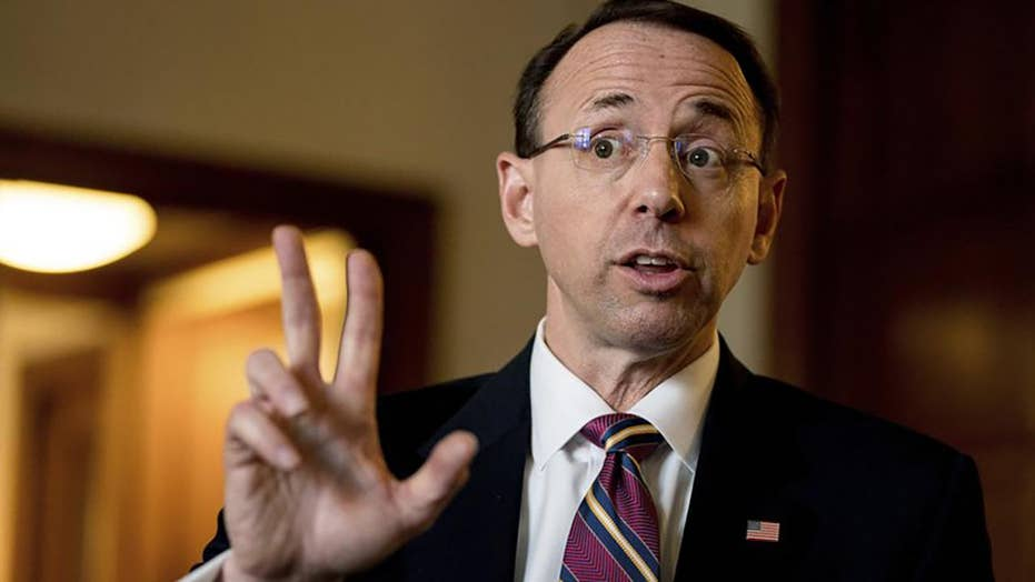 Rosenstein accused of threatening GOP-led committee