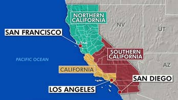 Initiative divides California into Northern California, California and Southern California. Adam Housley explains.