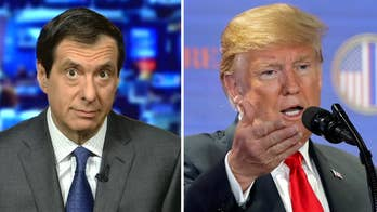 "'MediaBuzz' host Howard Kurtz responds to President Trump's tweet calling the media the ""country's biggest enemy."""