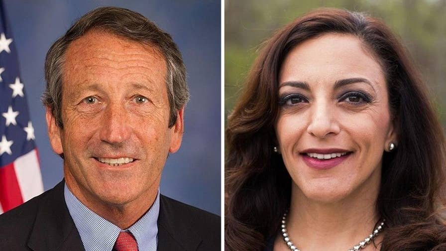 Trump-critic and obligatory Republican South Carolina Rep. Mark Sanford suspended in primary by state Rep. Katie Arrington.