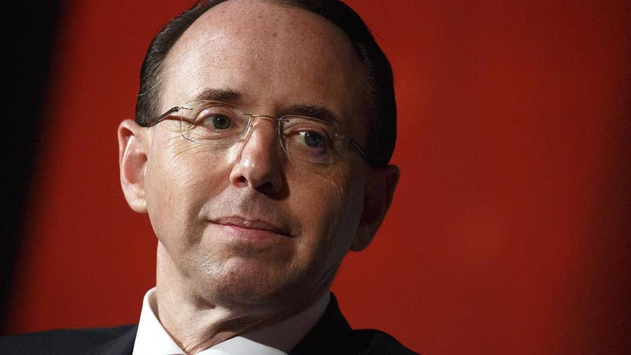 Emails: Rosenstein threatened to 'subpoena' House Intelligence lawmakers and aides during dispute. Catherine Herridge has the details.