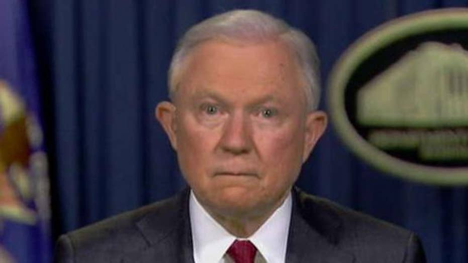 Sessions: 'Confident' Rosenstein didn't threaten to subpoena lawmakers