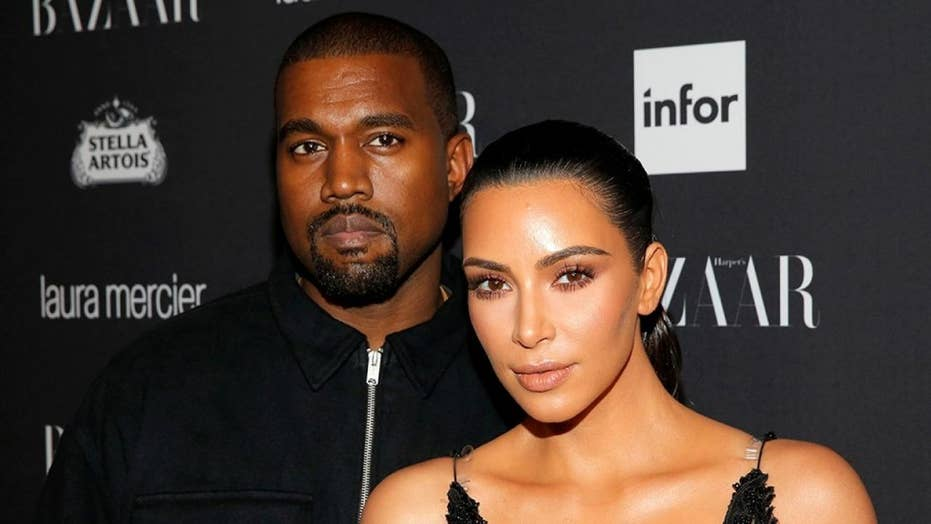 5f014c318f1 Kanye West launches Yeezy campaign with nude Kim Kardashian ...