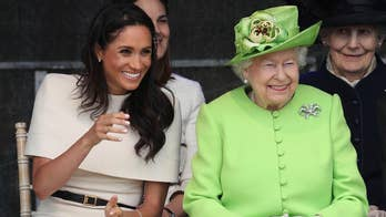 Meghan Markle stepped out for her first solo royal engagement with Queen Elizabeth following her royal wedding to Prince Harry. The public outing is the first time the new Duchess has been seen out with the Queen without any other members of the royal family.