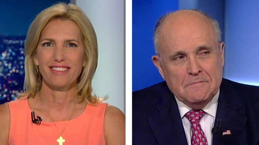 President Trump's attorney Rudy Giuliani says there's nothing for Cohen to cooperate about in regards to Trump and discusses the Mueller investigation on 'The Ingraham Angle.'