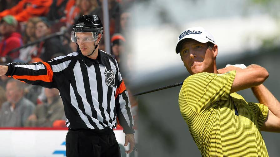 Garrett Rank is a full-time NHL referee who has qualified for his first U.S. Open. FOX News gets the full story on how qualified and how the persistent, multi-sport athlete, overcame his battle with cancer.