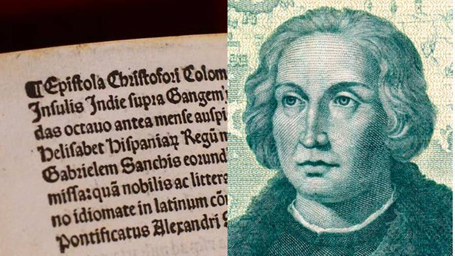The letter that Christopher Columbus wrote to the Vatican after his discovery of the 'New World' is returned after being stolen.