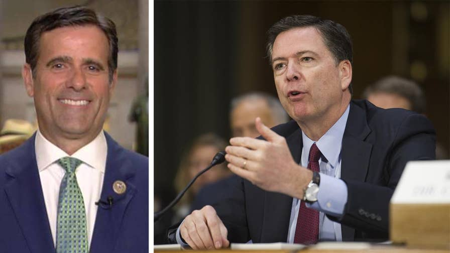 IG reports reveal Comey used a personal Gmail account to conduct official FBI business on numerous occasions; Texas congressman weighs in on 'The Daily Briefing.'