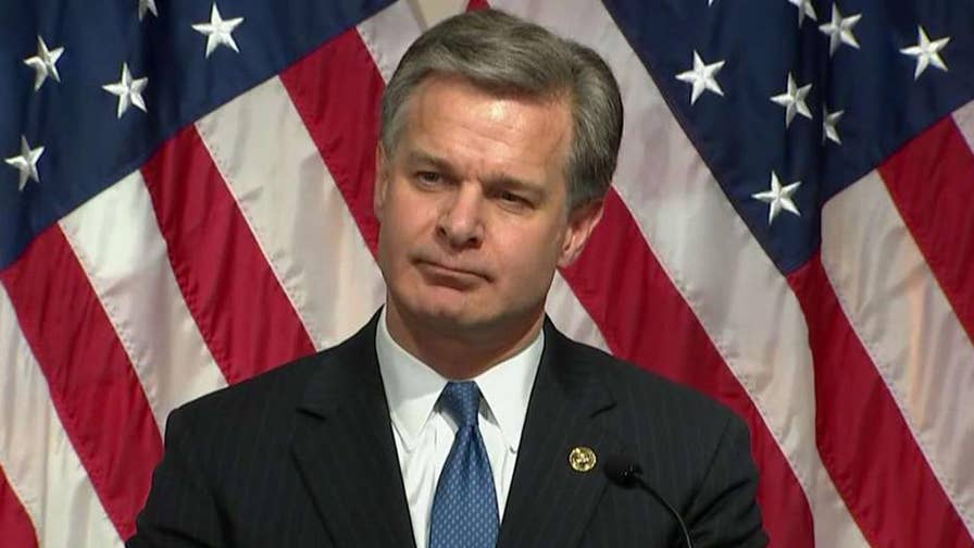 FBI Director Christopher Wray discusses the FBI's response to the findings of the DOJ inspector general's report regarding the handling of the Clinton email investigation.