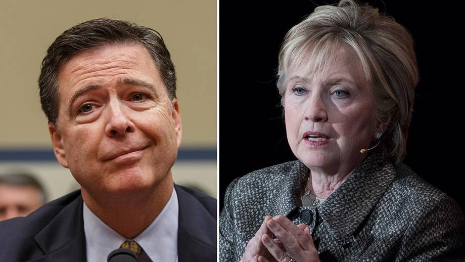 Comey hits back at Clinton, won't apologize to her over email probe