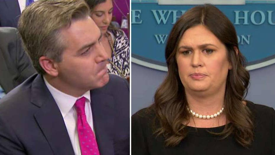 Sanders, Acosta clash over question about immigrant children