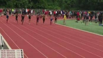 Mom of high school girls track athlete petitions to restrict athletic participation to birth gender after transgender teens dominate race.