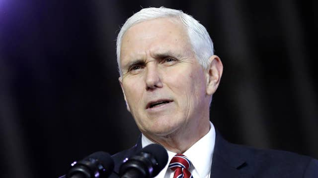 Pence addresses 'Tax Cuts to Put America First' event