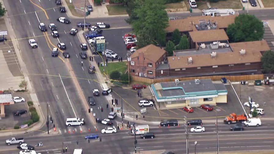 Police investigate reports of a shooting at a Colorado dentist office.