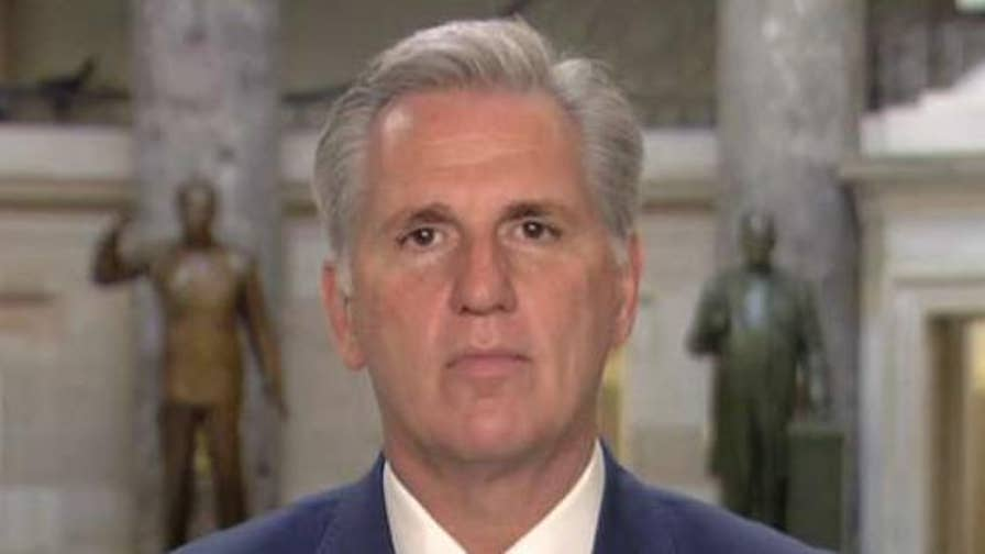 House majority leader speaks out on plans for DACA and the border wall.