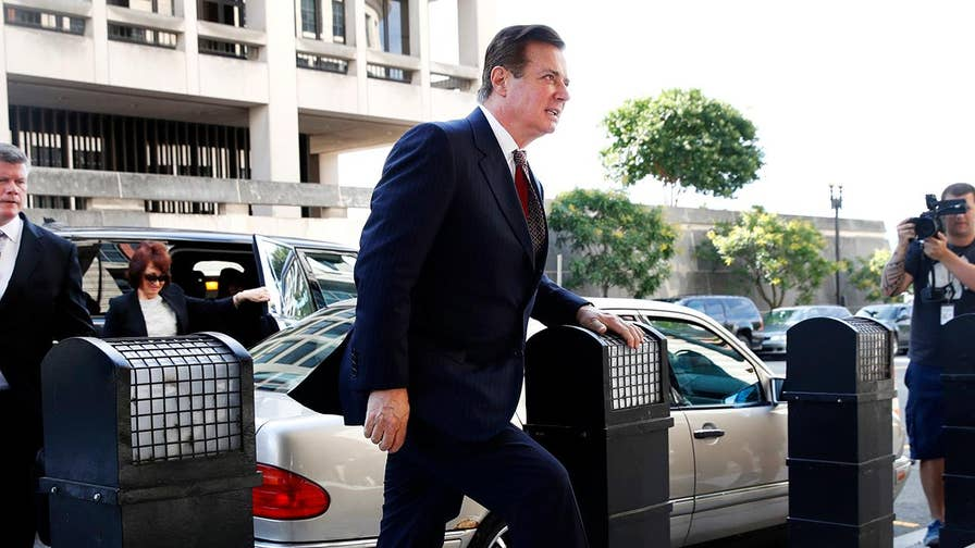 A gag order has been placed on Paul Manafort leading up to his trial; Doug McKelway reports.