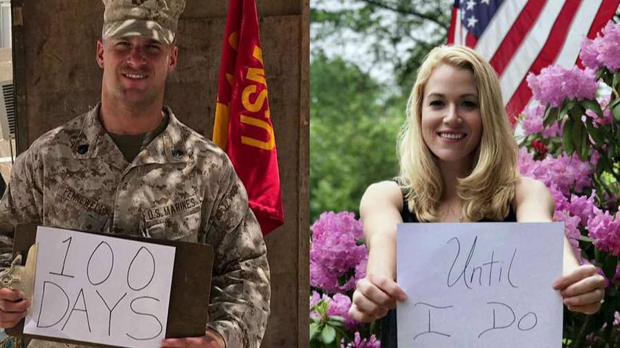 Christina Anderson opens up about her fiance being deployed.