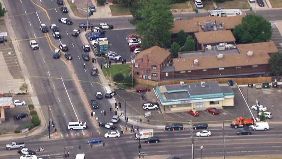 Raw video: Police respond to shooting at dentist office