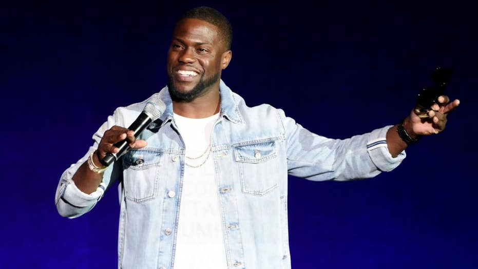 Kevin Hart not bothered by Kathy Griffin jab