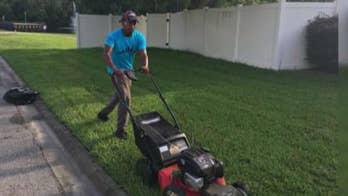 Rodney Smith talks Raising Men Lawn Care Service on 'Fox News @ Night with Shannon Bream.'