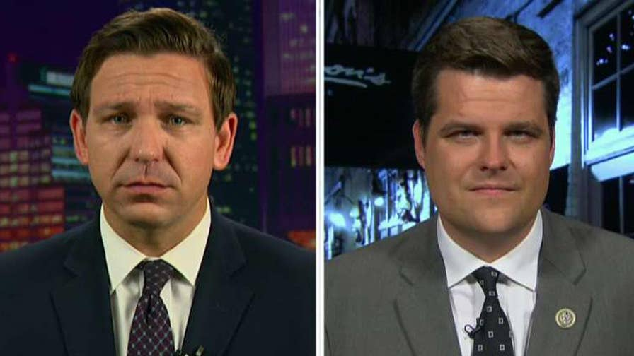 Congressmen Matt Gaetz and Ron DeSantis speak out on 'Hannity' after the all-important DOJ inspector general report is released.