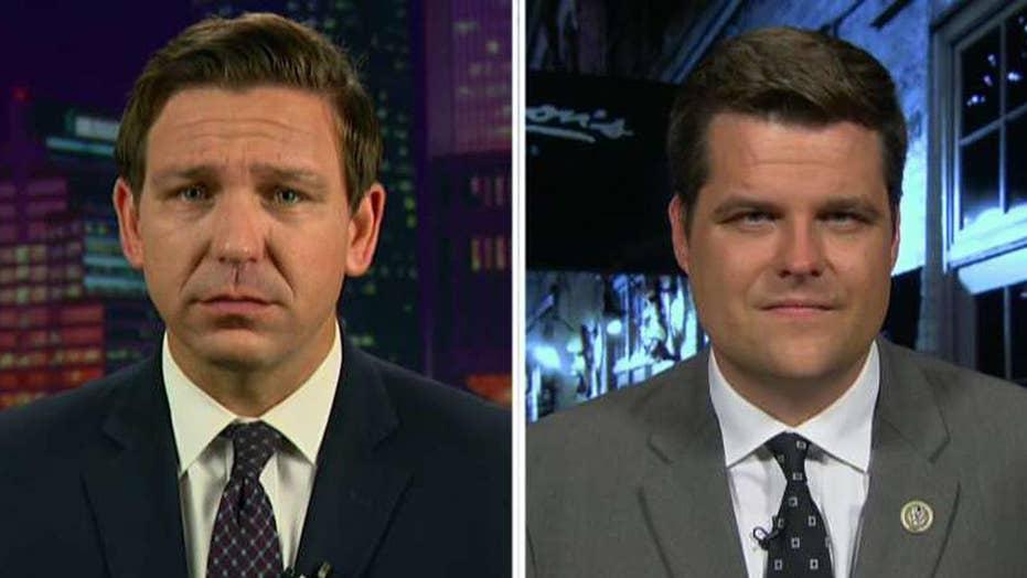 Reps. Matt Gaetz and Ron DeSantis on the IG report fallout