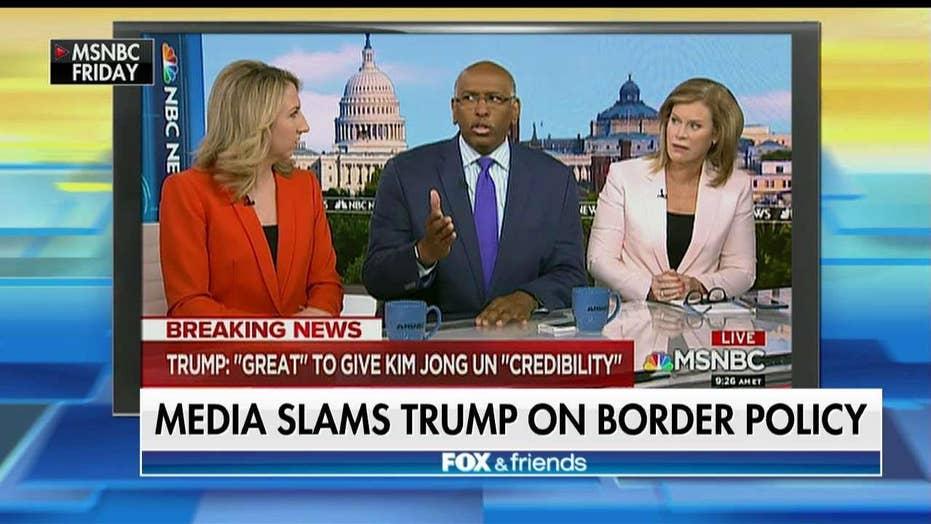 Border Official Slams Media for Border Detention Comparison
