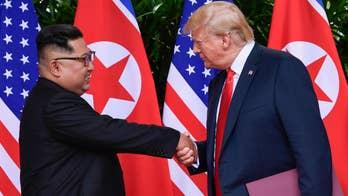 President Trump faces backlash over North Korea joke; 'Fox & Friends' political panel reacts.