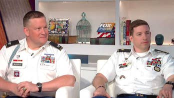 Major Paul Lushenko shares his story with 'Fox & Friends.'