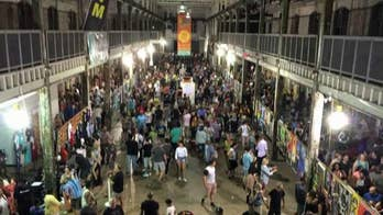 One suspect dead, another taken into custody after many people injured at NJ art festival; Bryan Llenas shares latest information.