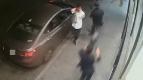GRAPHIC VIDEO WARNING: Officer shoots fleeing suspect