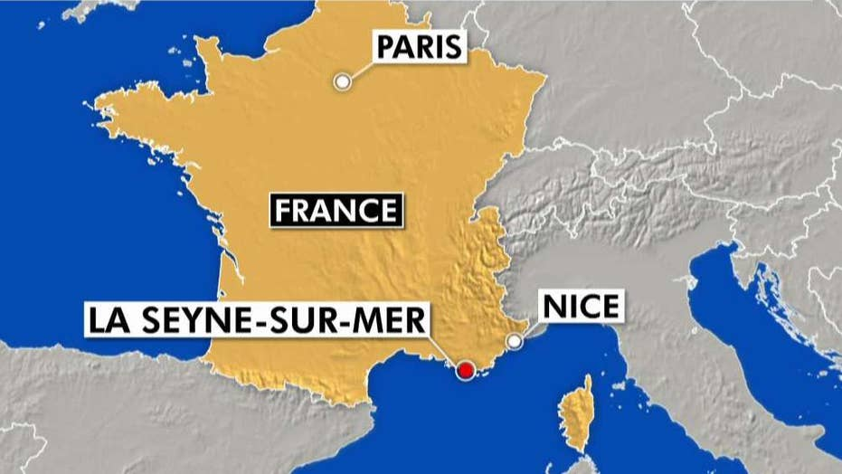 Woman injures two people with box cutter in France