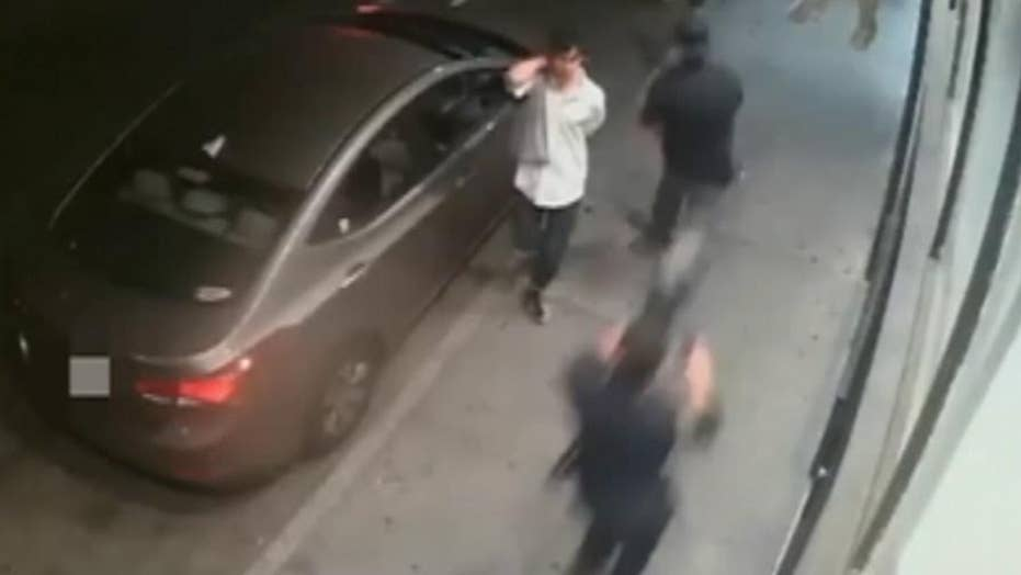 Warning, graphic video: Officer shoots fleeing suspect