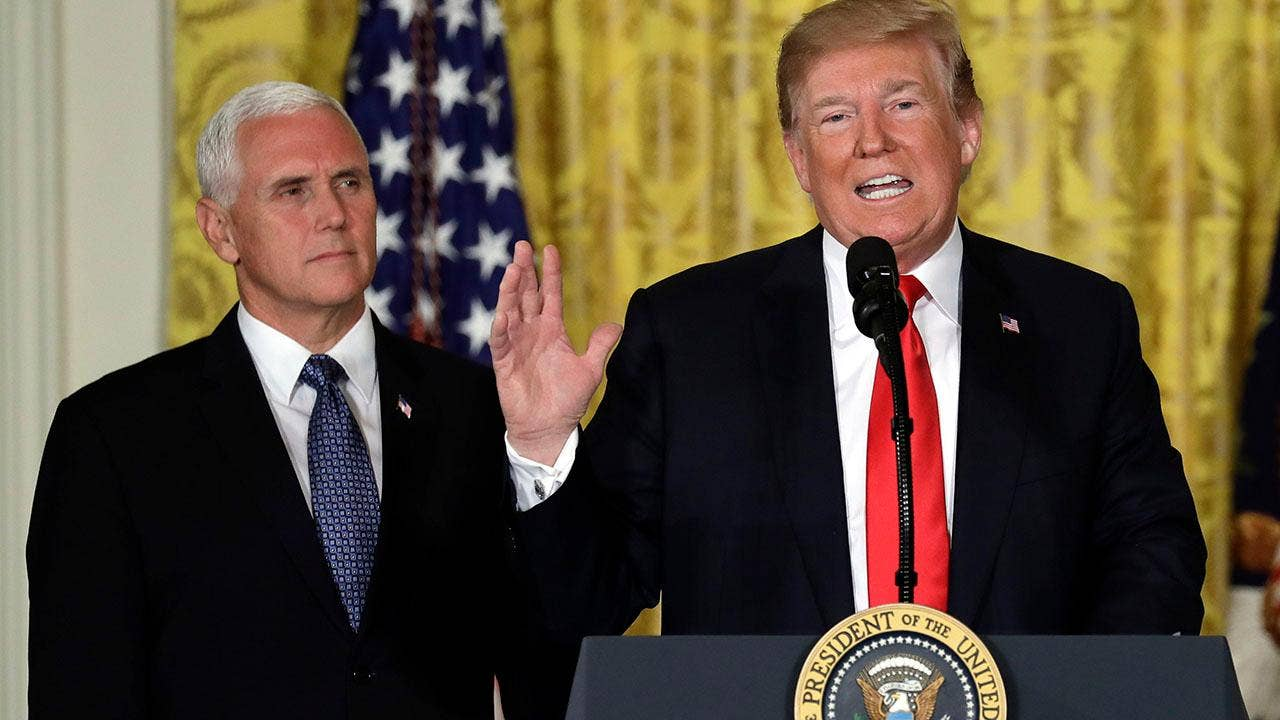 Trump orders establishment of 'space force' as 6th branch ...