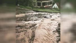 Northern Michigan saw devastating floods over the weekend that washed out roads and left behind dozens of sinkholes.
