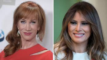 Liberal comedian Kathy Griffin pens expletive-filled tweet at first lady Melania Trump over the Trump administration's 'zero tolerance' immigration policy; reaction from RNC spokeswoman Kayleigh McEnany.