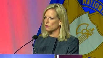 DHS Secretary Kirstjen Nielsen fires back at critics of 'zero tolerance' immigration policy, says media misrepresenting the facts; chief White House correspondent John Roberts reports.