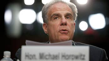Inspector general Michael Horowitz testifies before Senate Judiciary Committee on report on Hillary Clinton email investigation.